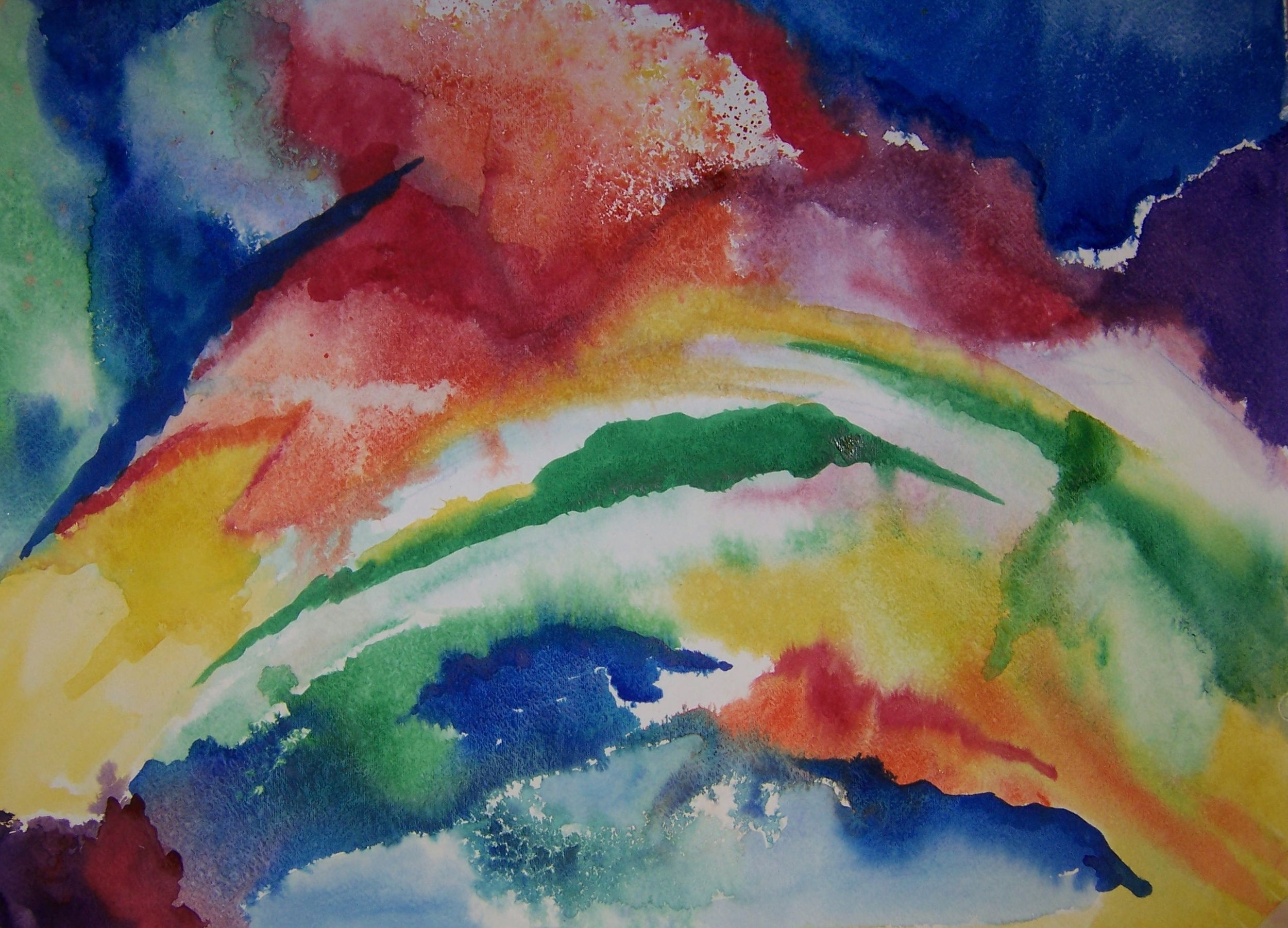 Abstract watercolor painting bing images for How to paint abstract with watercolors