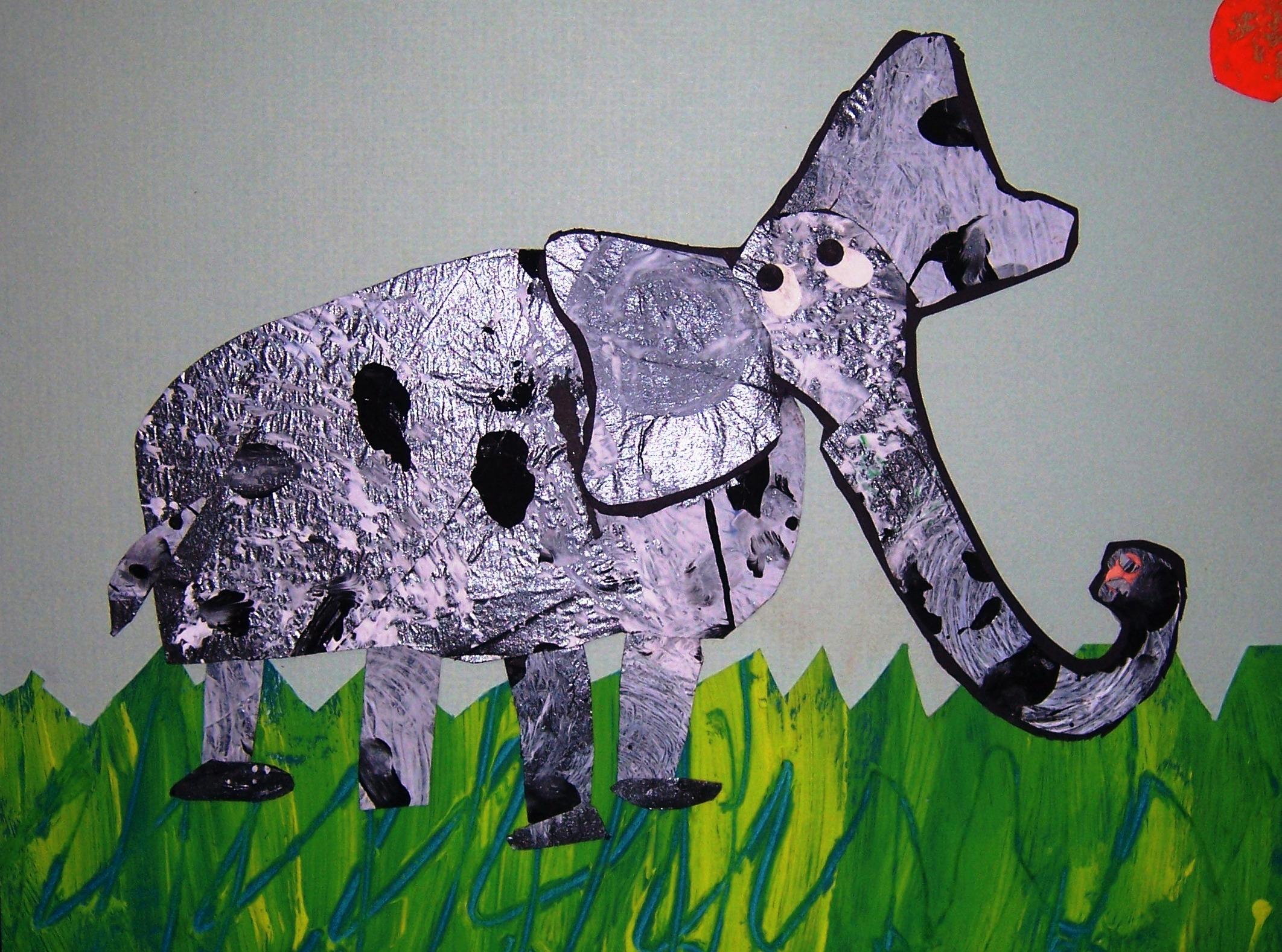 Collage Wilder Paint Splatters