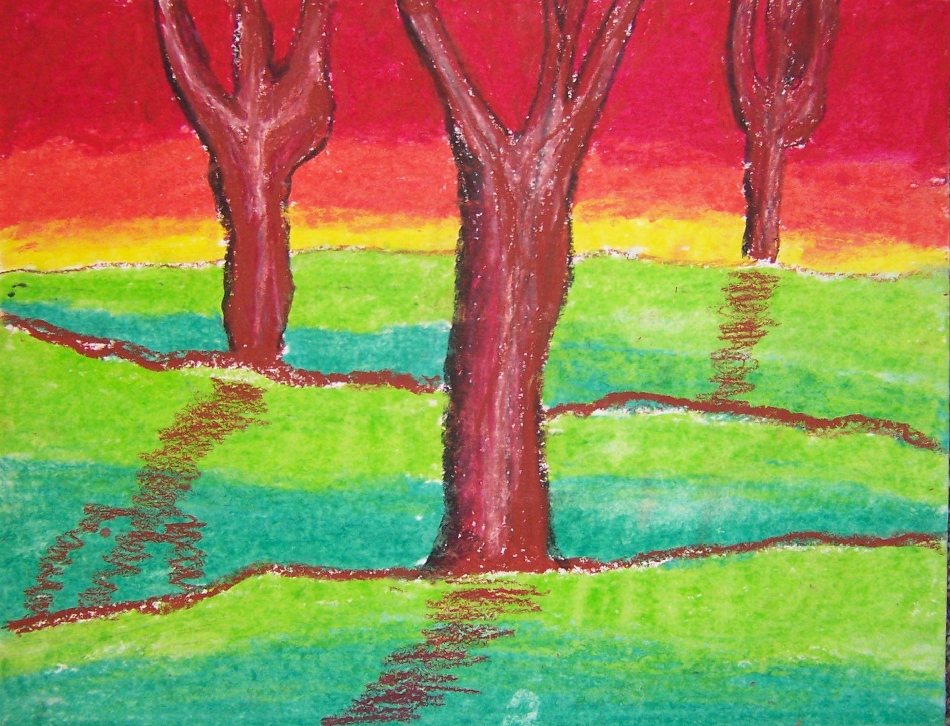 cool colors | Wilder Paint Splatters
